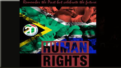 humans rights south africa The centre for human rights was established in the faculty of law, university of pretoria, in 1986, as part of domestic efforts against the apartheid system of the time members of the centre participated in meetings with the liberation movements outside the borders of south africa, organised conferences and participated in.
