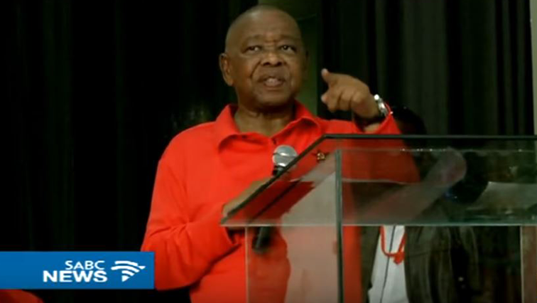 South African Communist Party (SACP) Secretary General Dr Blade Nzimande