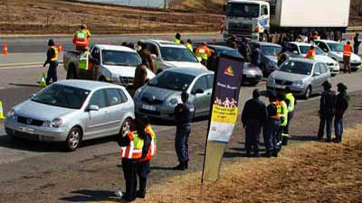 Motorists have been asked to abide by the rules of the road.