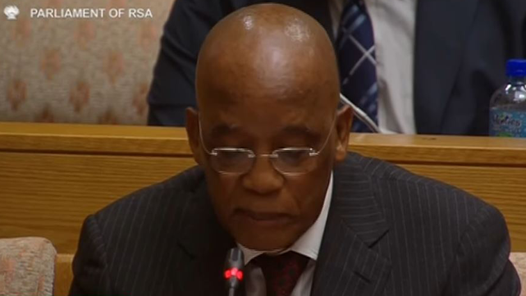 Ben Martins is appearing before the Eskom Parliamentary inquiry.