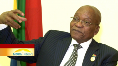 President Zuma faces charges of corruption, money-laundering and racketeering.