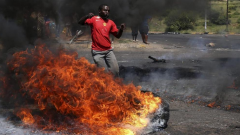 Communities of Kagiso and Munsieville went on the rampage, torching houses believed to belong to drug lords.