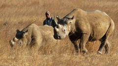 The men were found guilty of rhino poaching and the possession of illegal firearms.