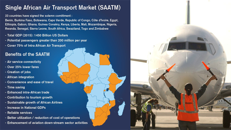 Twenty-three African countries have signed on to the Single African Air Transport Market.