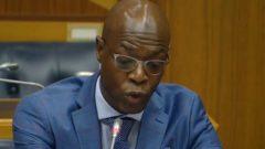 Matshela Koko was cross-examined on Wednesday night.