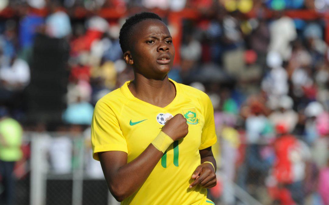 Banyana Banyana striker Thembi Kgatlana.