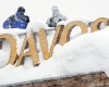 Heavy snow-fall disrupts traffic in Davos