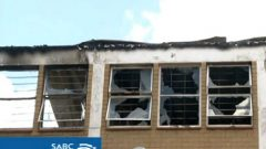 Two buildings in Rustenburg have been set on fire by angry residents.