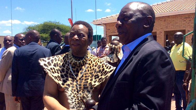 President Cyril Ramaphosa in northern KwaZulu Natal to pay a courtesy visit to Zulu King Goodwill Zwelithini at his Osuthu palace in Nongoma.