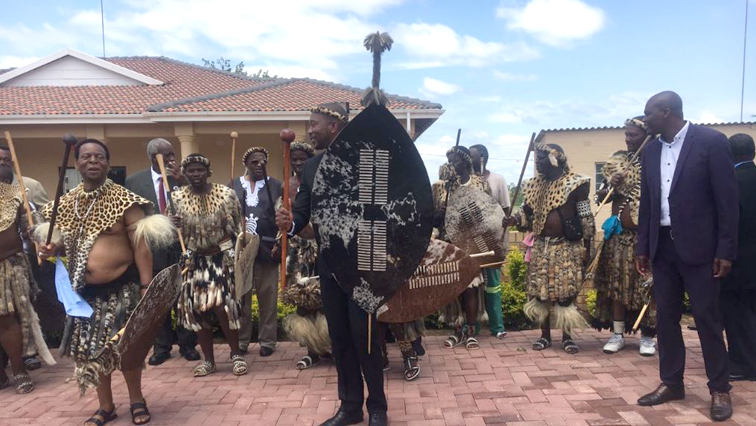 Democratic Alliance leaders are visiting the Zulu King Goodwill Zwelithini.