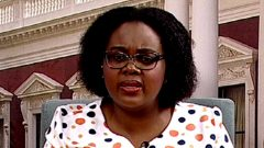 Communications Minister Kubayi-Ngubane