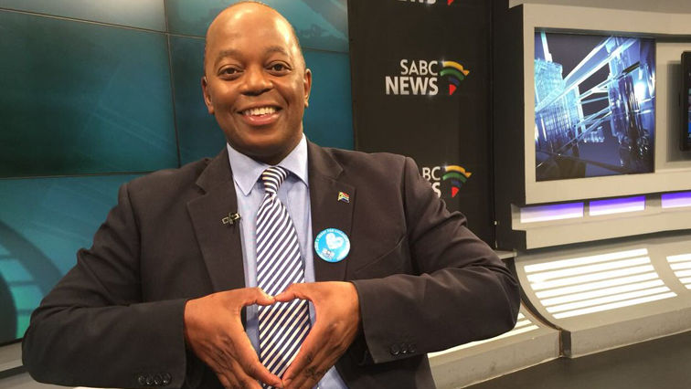 SABC News anchor Peter Ndoro