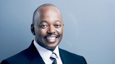 Picture of Peter Ndoro smiling.