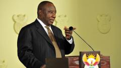 SA President Cyril Ramaphosa