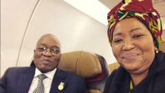 President Jacob Zuma and the First Lady Thobeka Madiba-Zuma