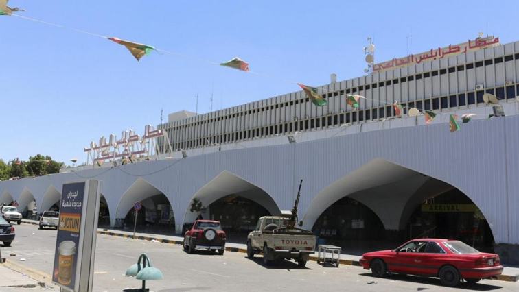 Mitiga airport, Libya's only fully operating airport in the capital Tripoli.