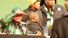 Jacob Zuma at the ANC conference in December 2017