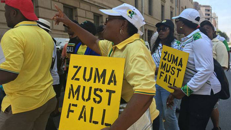 Protests against Jacob Zuma