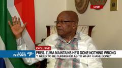 SA President Jacob Zuma
