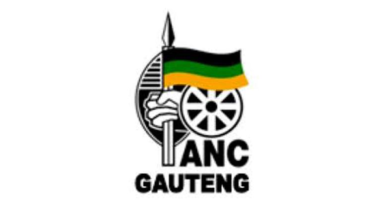 African National Congress Gauteng logo