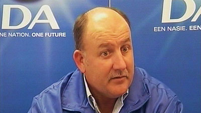 Nelson Mandela Bay Mayor, Athol Trollip.