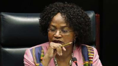 National Assembly Speaker Baleka Mbete