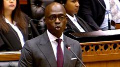 SA Finance Minister, Malusi Gigaba