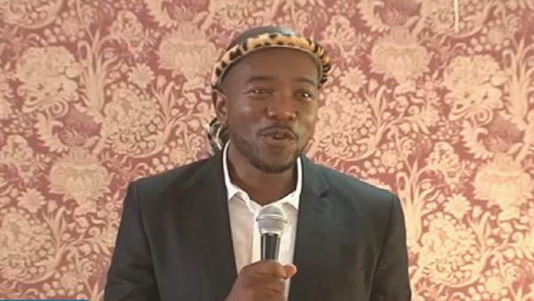 DA party leader Mmusi Maimane.