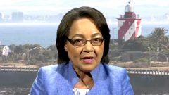 Cape Town Mayor Patricia de Lille
