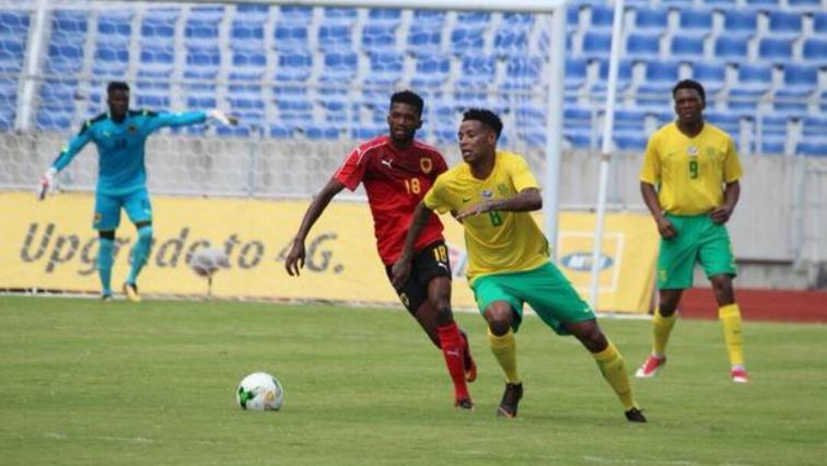 BafanaVSAngola(Twitter@BafanaBafana)