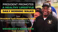 Ramaphosa's invitation to walk