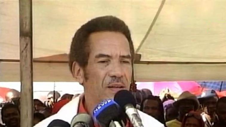 Botwana's President Ian Khama.