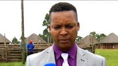 Prince Bulelani Lobengula Khumalo of the Ndebele nation.
