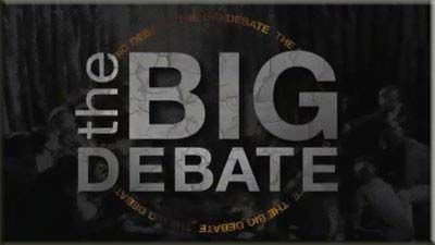 the big debate logo - The Big Debate