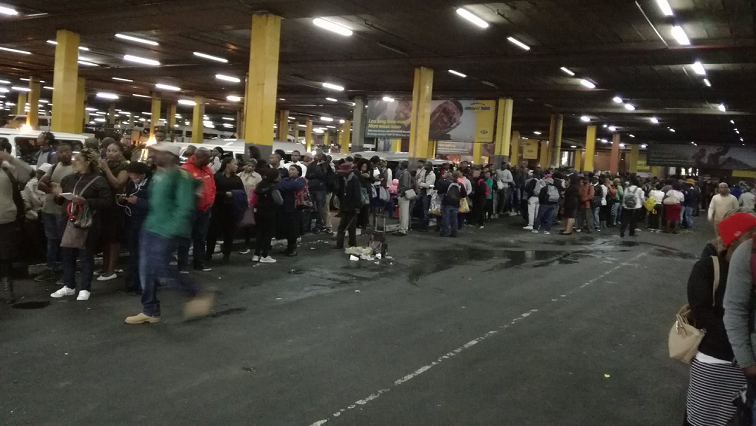 Commuters have been inconvenienced since last week when thousands of drivers downed tools countrywide.