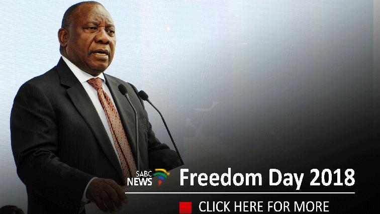 Ramaphosa to lead Freedom Day celebrations
