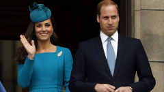 Prince William and his wife Kate.
