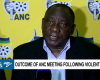 Ramaphosa calls for calm in Mahikeng