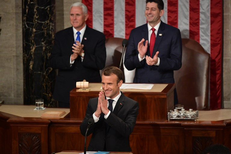 US-FRANCE-DIPLOMACY-MACRON-CONGRESS