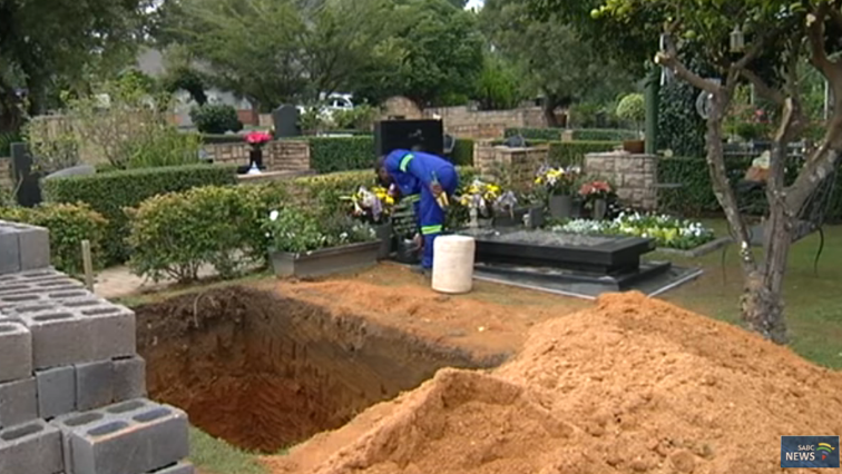 Winnie Madikizela-Mandela's grave.