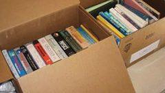 Books in a box