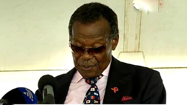 IFP leader Mangosuthu Buthelezi.
