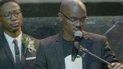Musa Mthombeni says Akhumzi Jezile's last words to him were 'I love you'.