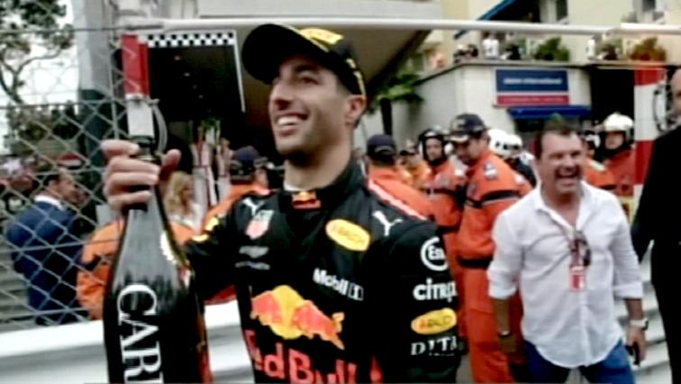 Australia's Daniel Ricciardo of Red-Bull