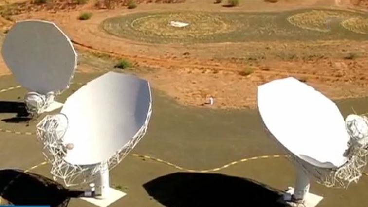 The SKA satellite