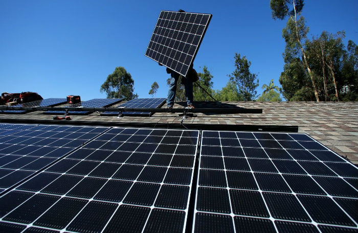 A 70-90% penetration of renewable energy, such as solar is possible in the future.