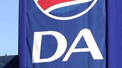 DA flag with logo