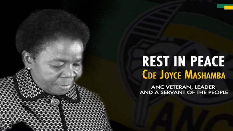 Joyce Mashamba.