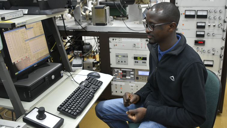 Geologist, Tebogo Makhubela worked on finding the origins of Homo Naledi.