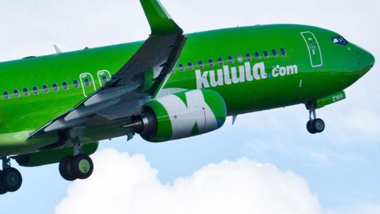 Kulula.com airplane